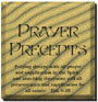 Prayer Precepts